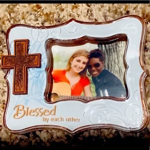 """Hallmark keepsake,"""" blessed by each other""""Ornament"""
